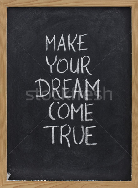 make your dream come true Stock photo © PixelsAway