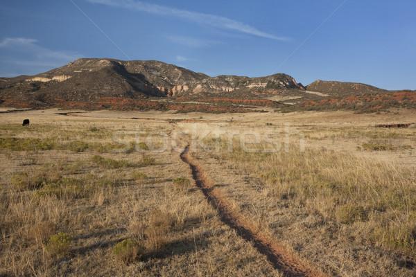 Vee parcours Colorado berg vallei Rood Stockfoto © PixelsAway