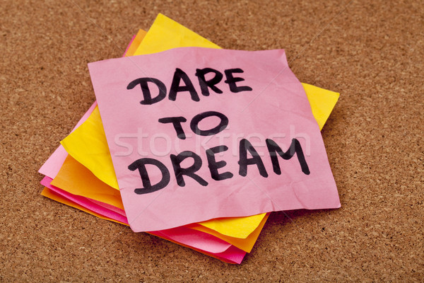 dare to dream Stock photo © PixelsAway