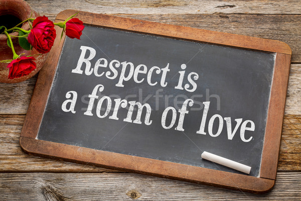 Respect is a form of love Stock photo © PixelsAway