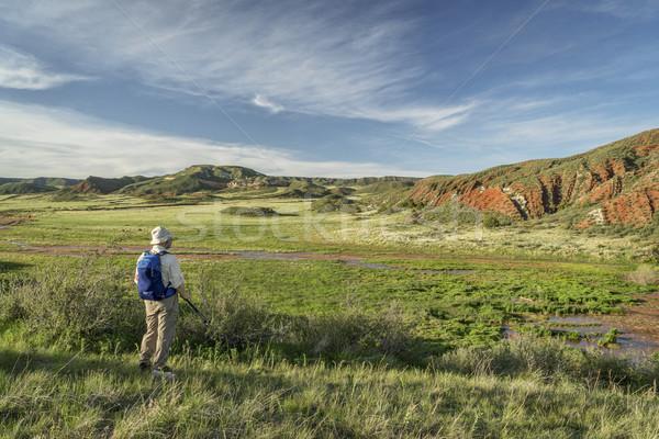hiker at Colorado foothills  Stock photo © PixelsAway