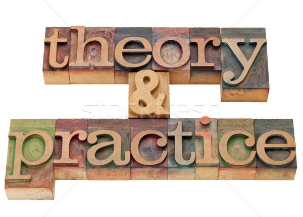 theory and practice Stock photo © PixelsAway