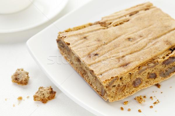 Glutenvrij brood stuk kruimels kokosnoot Stockfoto © PixelsAway