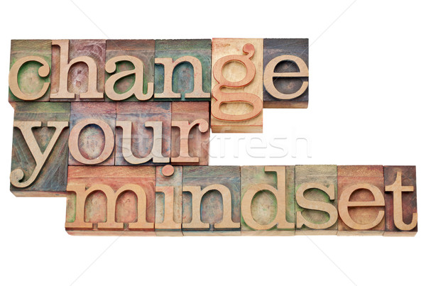 Change your mindset Stock photo © PixelsAway