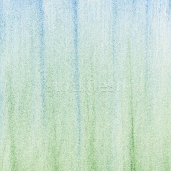 Zöld kék pasztell absztrakt függőleges puha Stock fotó © PixelsAway