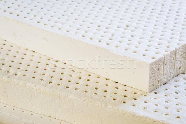 Naturelles latex matelas exposé couches organique Photo stock © PixelsAway
