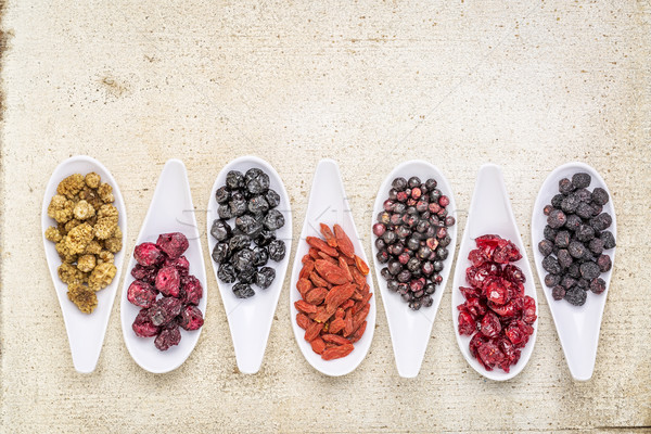 healthy superfruit berry collection  Stock photo © PixelsAway