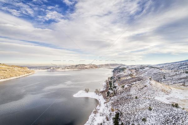 горные озеро водохранилище парка форт Сток-фото © PixelsAway