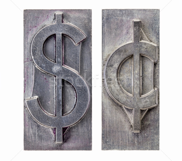 dollar and cent symbols Stock photo © PixelsAway