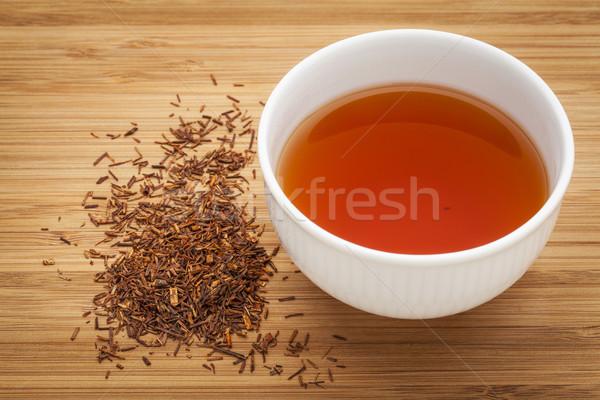 Vermelho chá branco copo beber solto Foto stock © PixelsAway