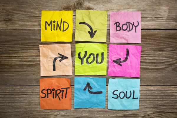 mind, body, spirit, soul and you  Stock photo © PixelsAway