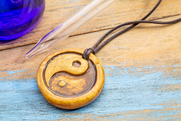 aromatherapy yin and yand pendant Stock photo © PixelsAway