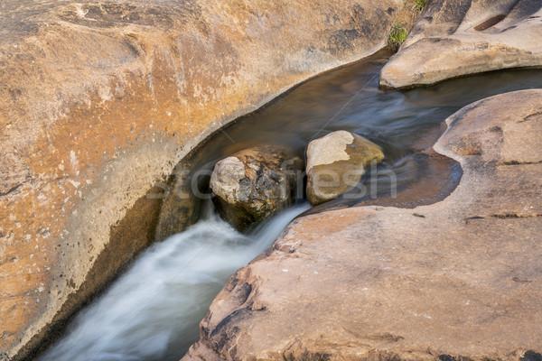 небольшой ручей песчаник мельница Сток-фото © PixelsAway
