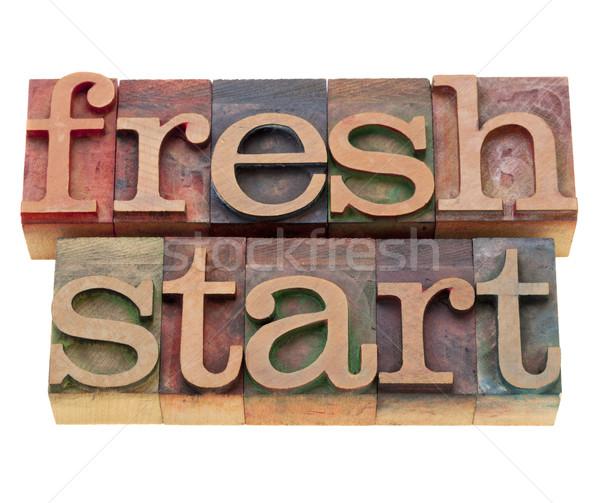 fresh start Stock photo © PixelsAway