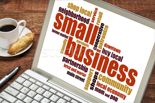 small business word cloud  Stock photo © PixelsAway