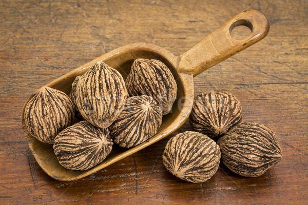 black walnuts in rustic scoop Stock photo © PixelsAway