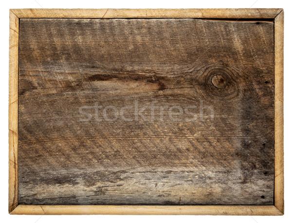 Rustiek schuur hout boord ruw teken Stockfoto © PixelsAway