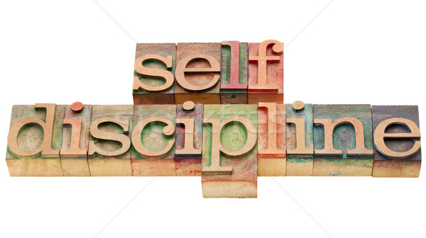 self discipline Stock photo © PixelsAway