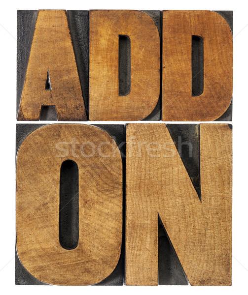 木材 タイプ コンピュータソフトウェア コンポーネント アプリケーション 孤立した ストックフォト © PixelsAway
