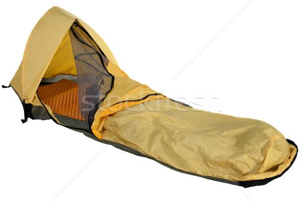 遠征 キャンプ 黄色 ミニマリスト オープン ストックフォト © PixelsAway