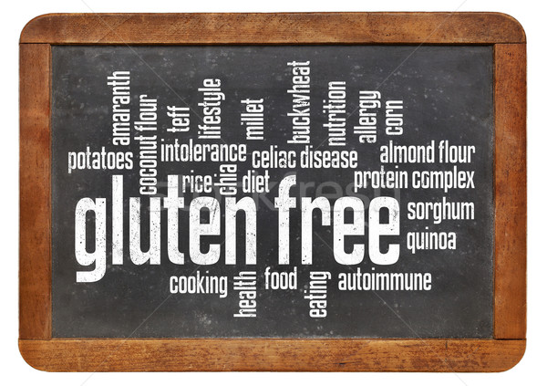 gluten free word cloud Stock photo © PixelsAway