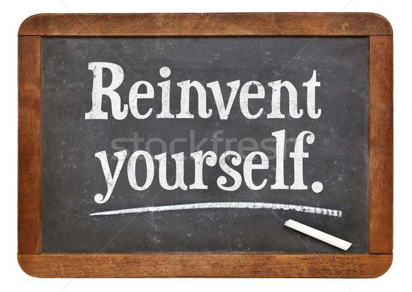 reinvent yourself Stock photo © PixelsAway