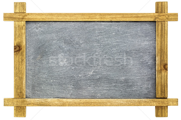 blank sltate blackboard isolated Stock photo © PixelsAway