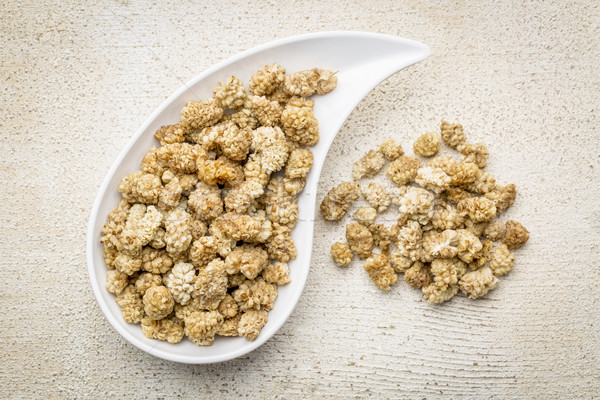 dried white mulberry Stock photo © PixelsAway