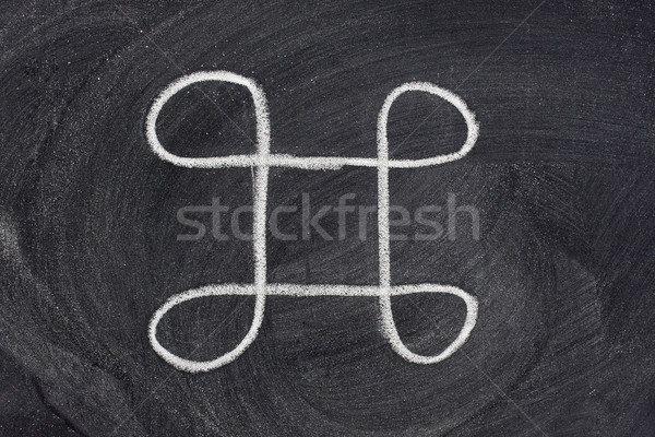 ancient remains sign on blackboard Stock photo © PixelsAway