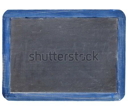 slate blackboard in blue frame Stock photo © PixelsAway
