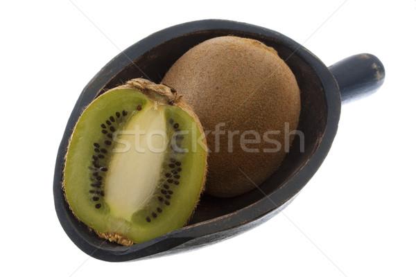 scoop of kiwi fruits Stock photo © PixelsAway