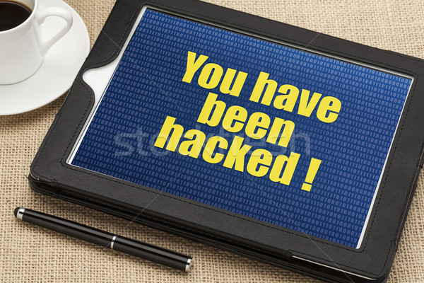 you have been hacked Stock photo © PixelsAway