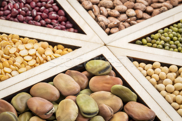 bean, lentil and pea abstract Stock photo © PixelsAway