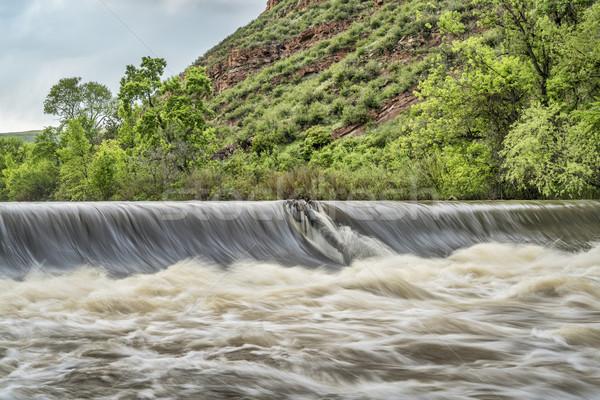 Poudre river diversion dam  Stock photo © PixelsAway