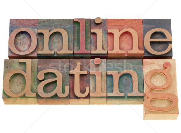 online dating Stock photo © PixelsAway