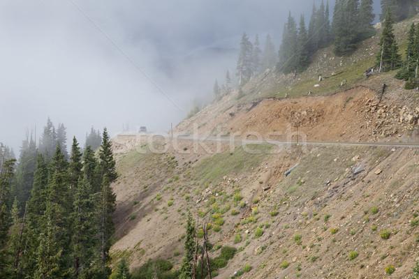 Dağ sürücü Colorado dağlar karayolu kıta Stok fotoğraf © PixelsAway