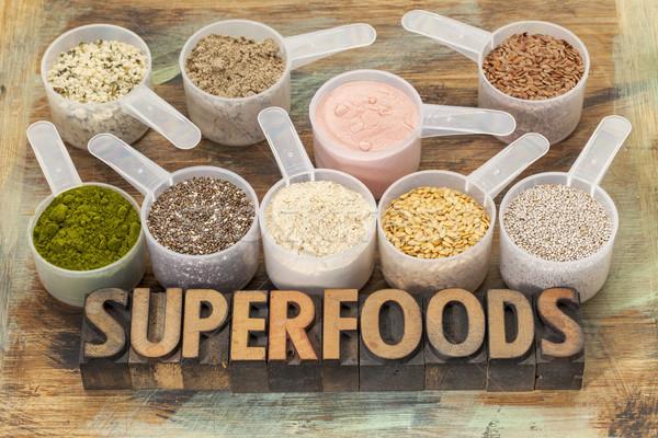 scoops of superfoods Stock photo © PixelsAway