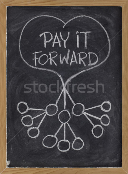 pay it forward Stock photo © PixelsAway