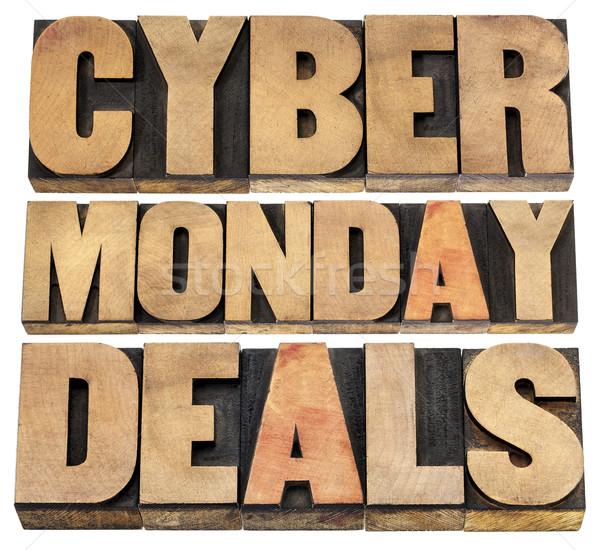 Stock photo: Cyber Monday deals