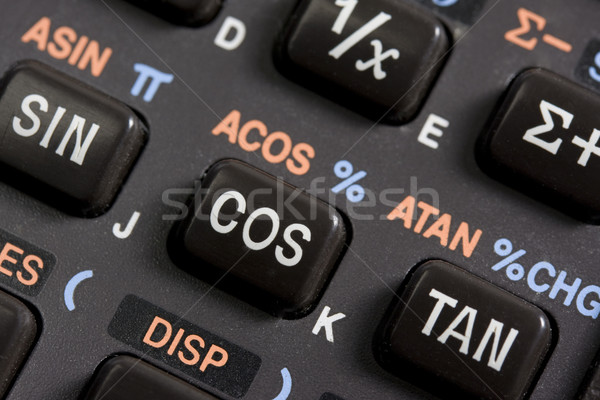 keyboard of scientific calculator - detail Stock photo © PixelsAway