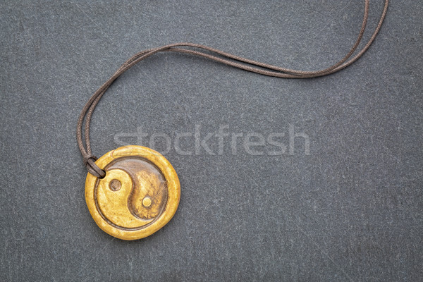 yin and yang pendant Stock photo © PixelsAway
