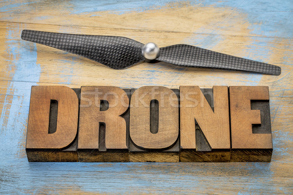 drone word abstract  Stock photo © PixelsAway