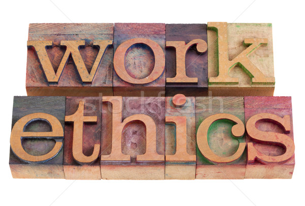 work ethics Stock photo © PixelsAway