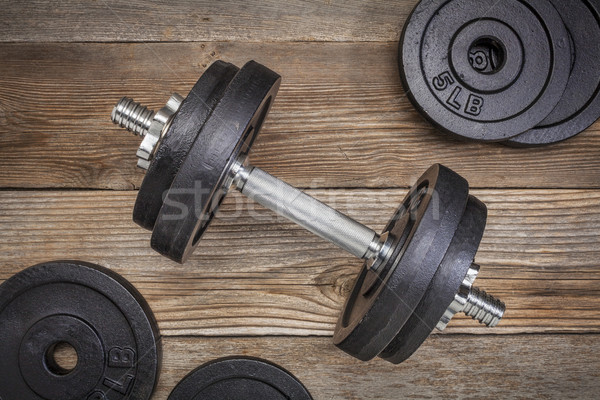 exercise weights  Stock photo © PixelsAway