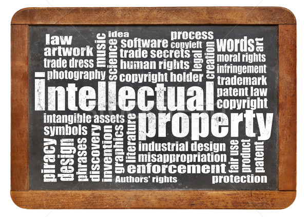 intellectual property word cloud Stock photo © PixelsAway