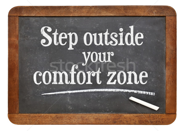 step outside your comfort zone Stock photo © PixelsAway