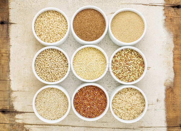 healthy, gluten free grains abstract Stock photo © PixelsAway
