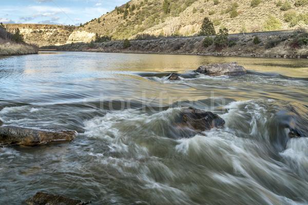 ロデオ 急速 コロラド州 川 米国 見える ストックフォト © PixelsAway