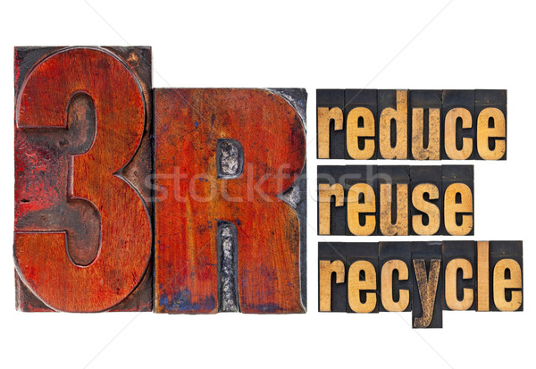 reduce, reuse, recycle - 3R concept Stock photo © PixelsAway
