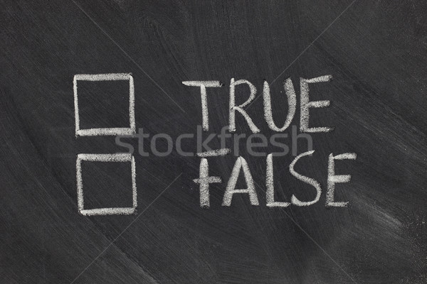 true or false checkboxes Stock photo © PixelsAway